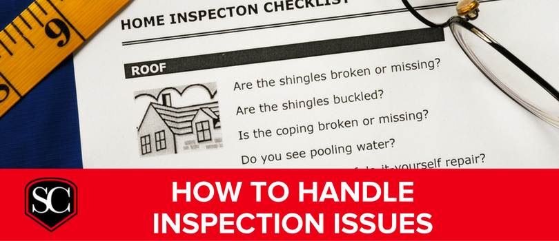 How To Handle Home Inspection Issues